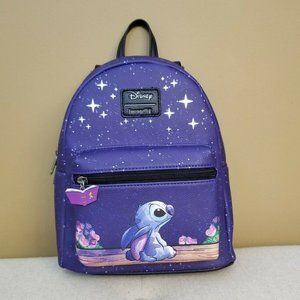 Disney Lilo & Stitch Starry Night Mini Backpack